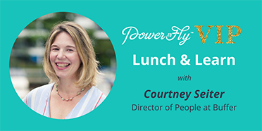 Lunch & Learn With The Director of People at Buffer