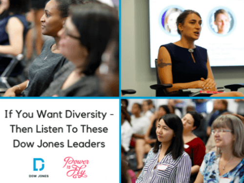 If You Want Diversity, Listen To These Dow Jones Leaders
