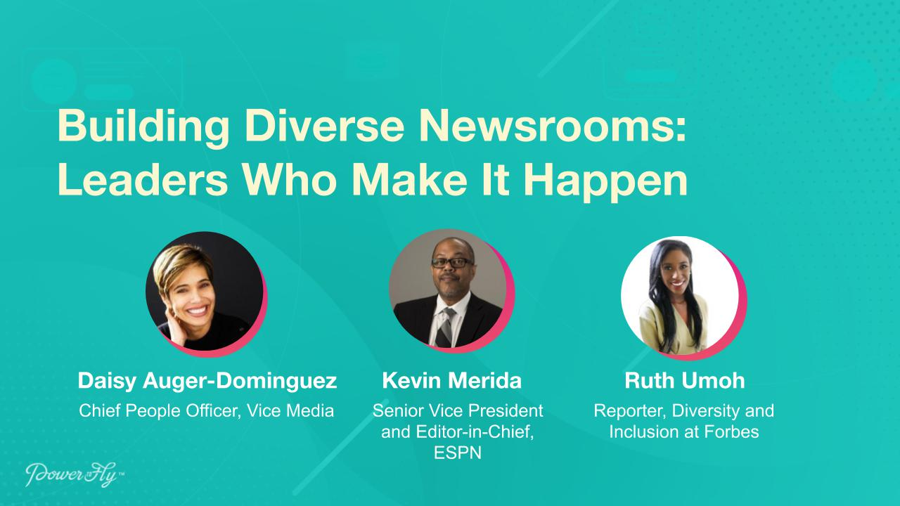 Building Diverse Newsrooms: Leaders Who Make It Happen
