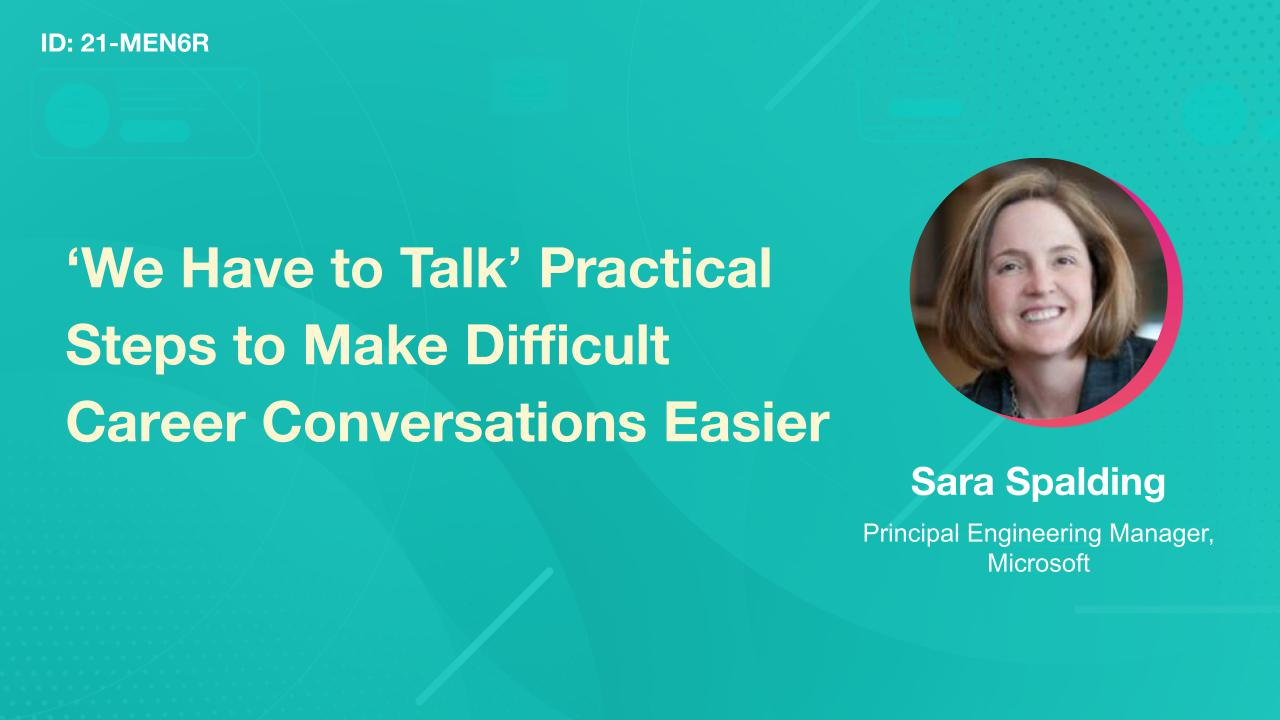 'We Have to Talk' Practical Steps to Make Difficult Career Conversations Easier