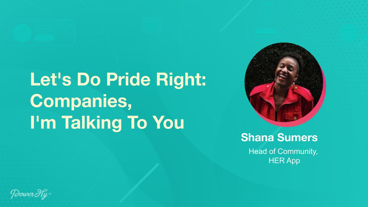 Let's Do Pride Right: Companies, I'm Talking To You