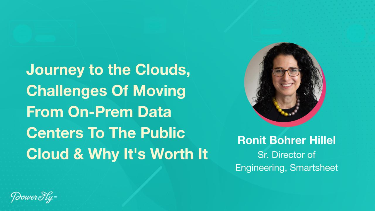 Journey to the Clouds, Challenges Of Moving From On-Prem Data Centers To The Public Cloud & Why It's Worth It