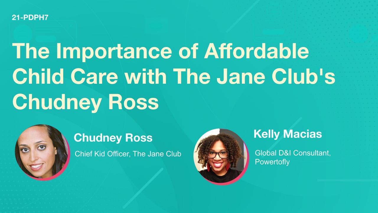 The Importance of Affordable Child Care with The Jane Club's Chudney Ross