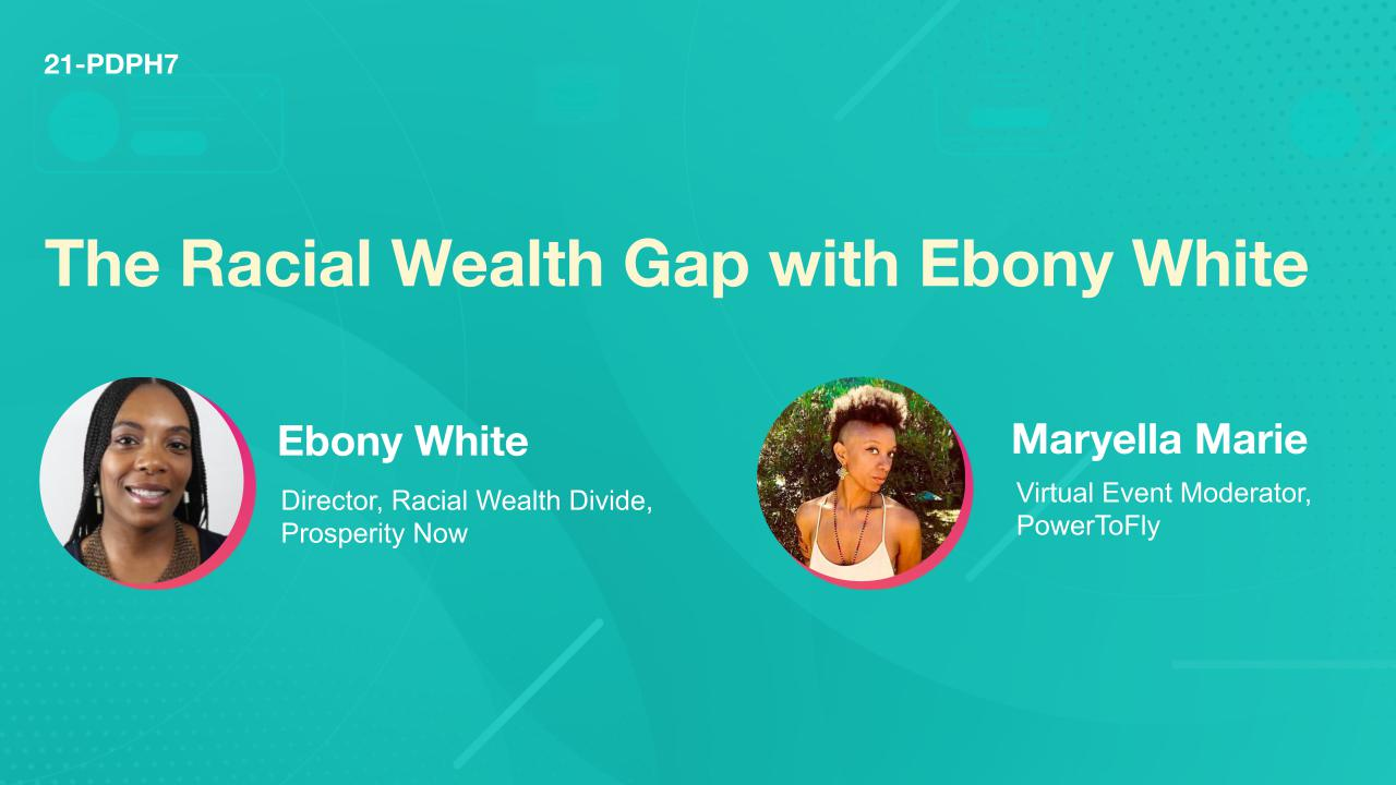 The Racial Wealth Gap with Ebony White