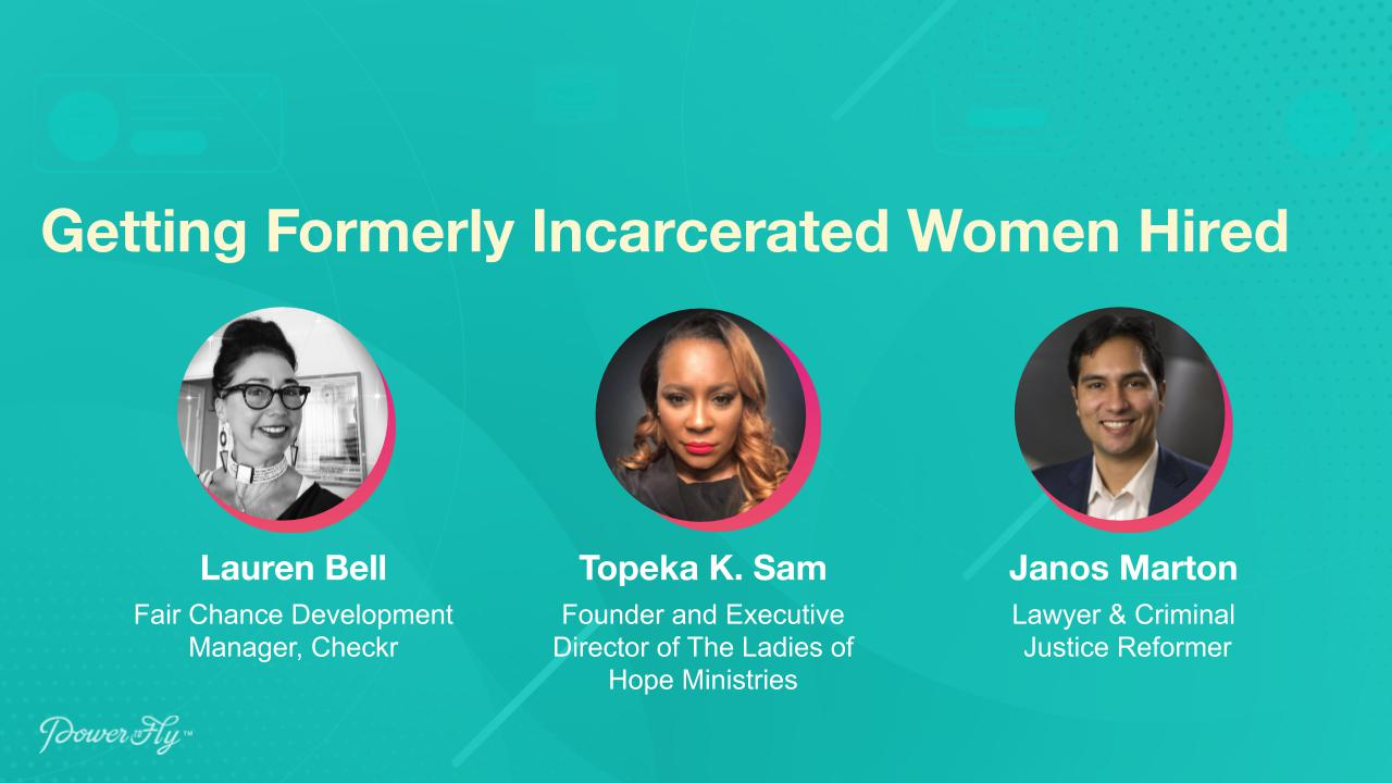 Getting Formerly Incarcerated Women Hired