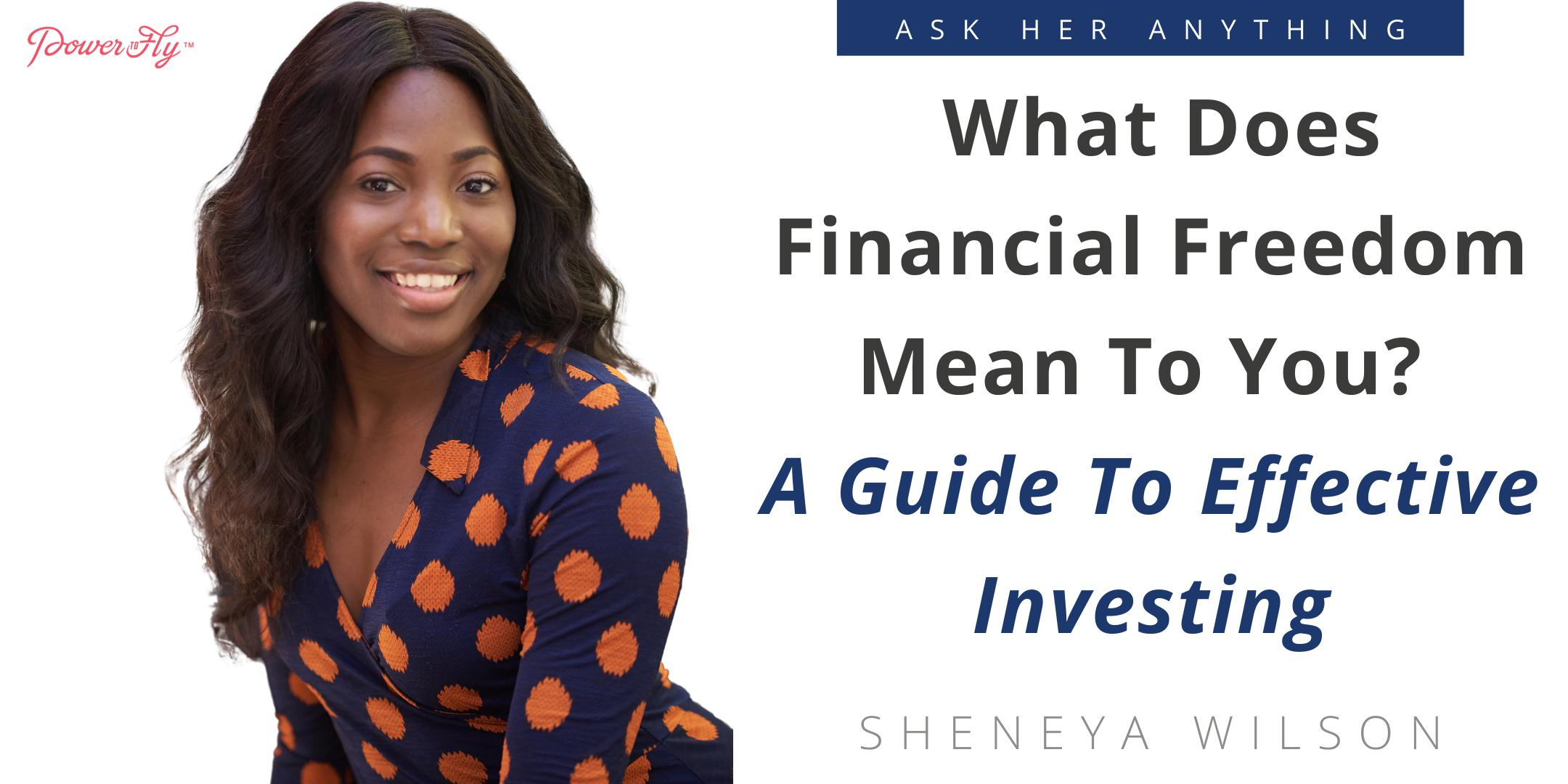 What Does Financial Freedom Mean To You? A Guide To Effective Investing