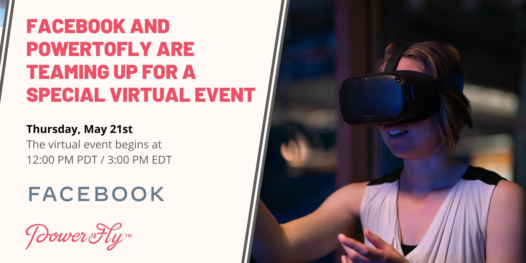 Facebook and PowerToFly are Teaming Up For A Special Virtual Event