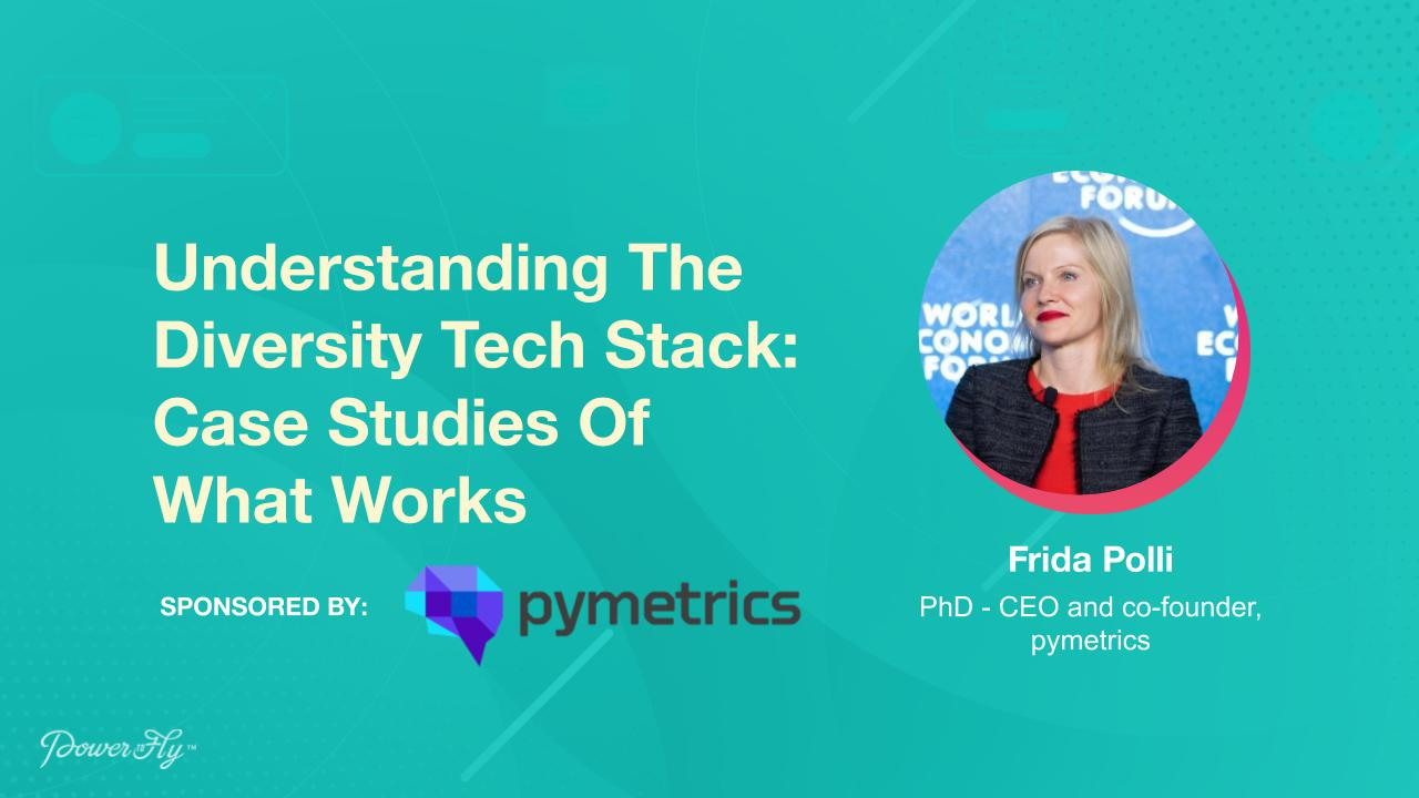 Understanding The Diversity Tech Stack: Case Studies Of What Works