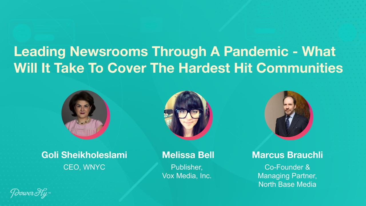 Leading Newsrooms Through A Pandemic - What Will It Take To Cover The Hardest Hit Communities
