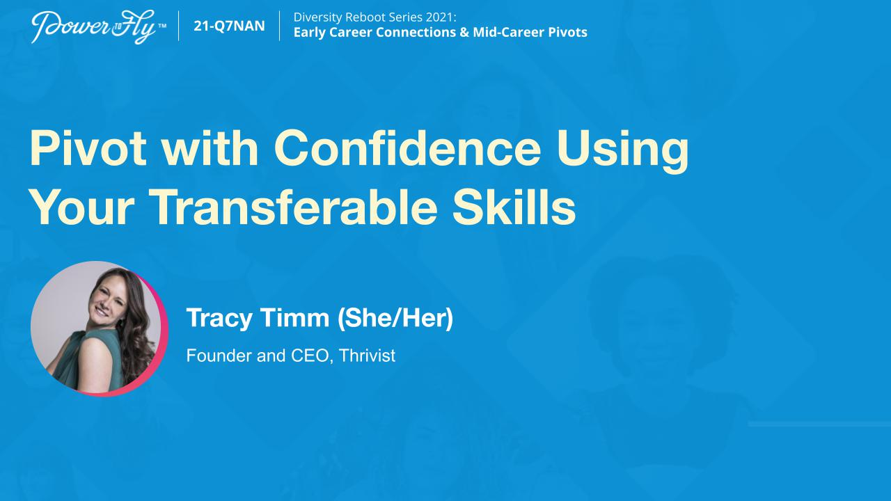 Pivot with Confidence Using Your Transferable Skills
