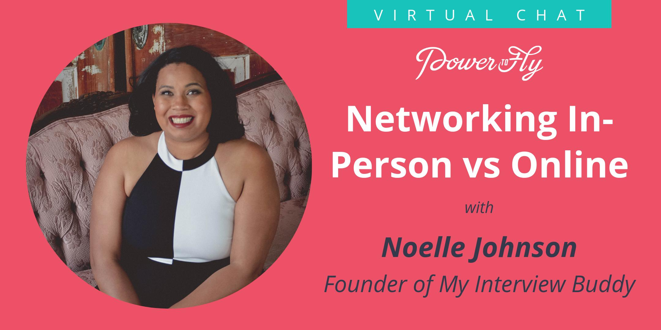 Networking In-Person vs Online