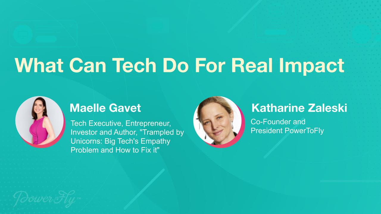 What Can Tech Do For Real Impact