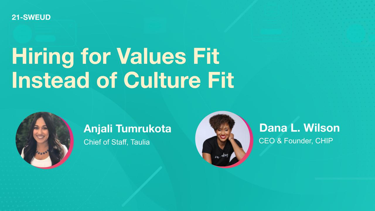 Hiring for Values Fit Instead of Culture Fit