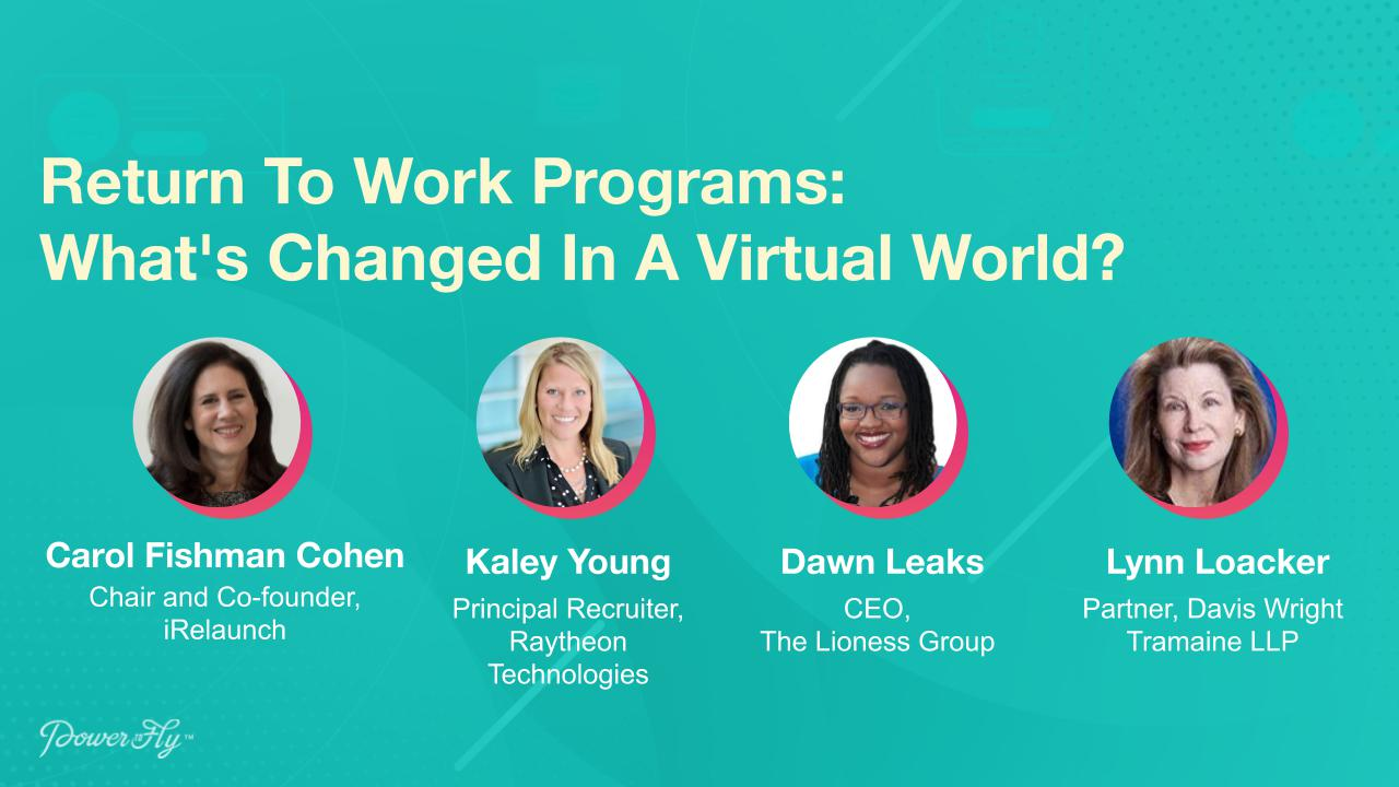 Return To Work Programs: What's Changed In A Virtual World?