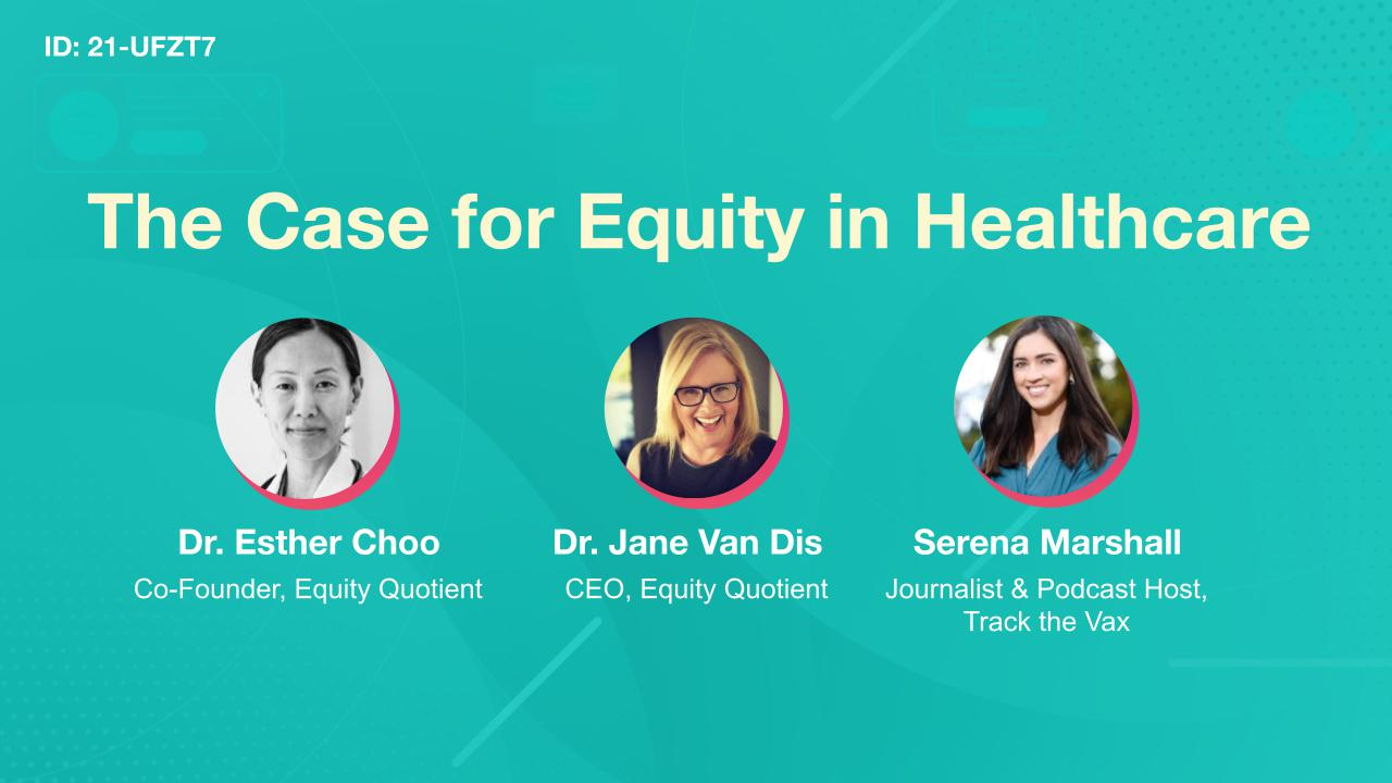 The Case for Equity in Healthcare