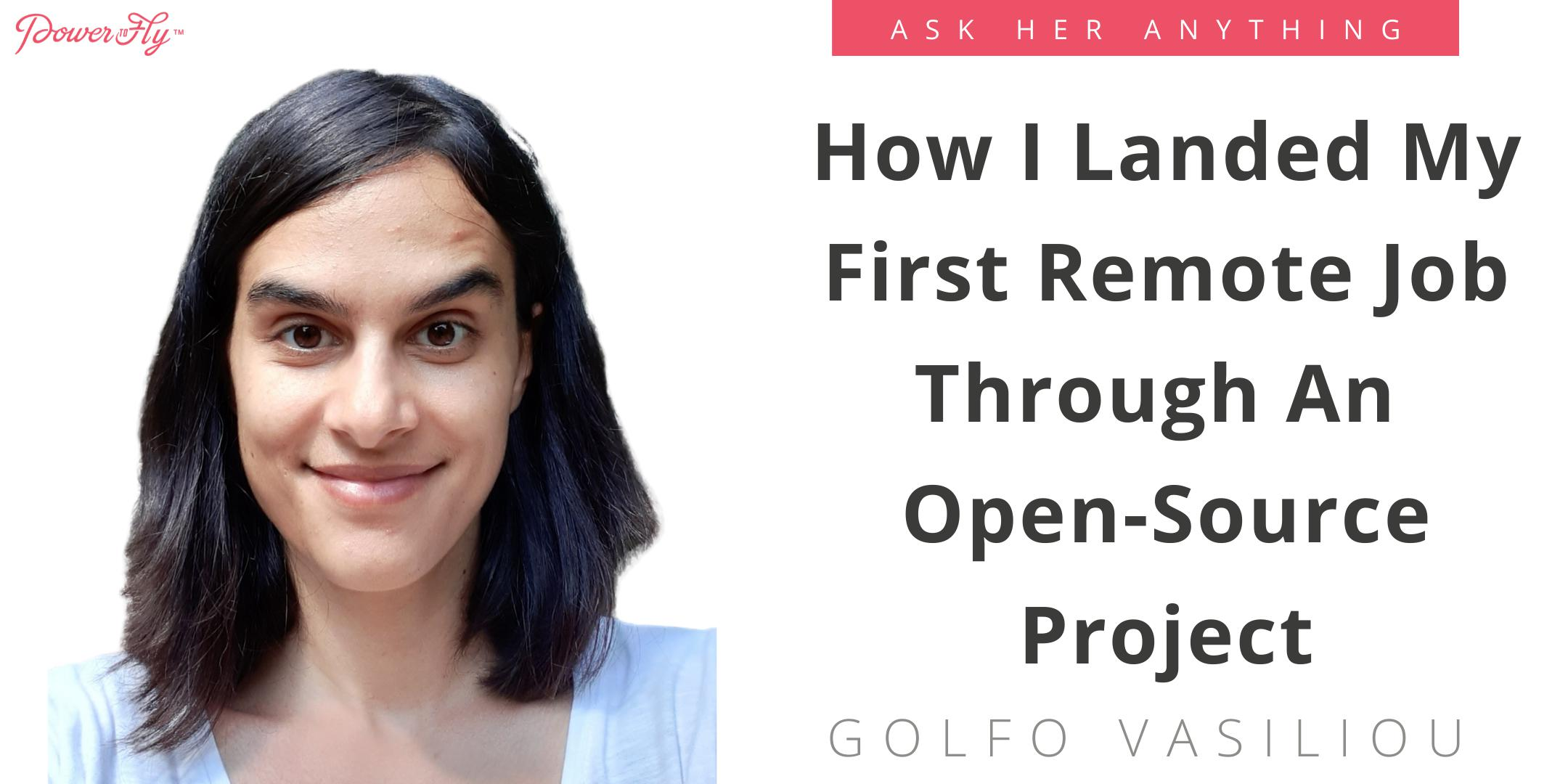 How I Landed My First Remote Job Through An Open-Source Project