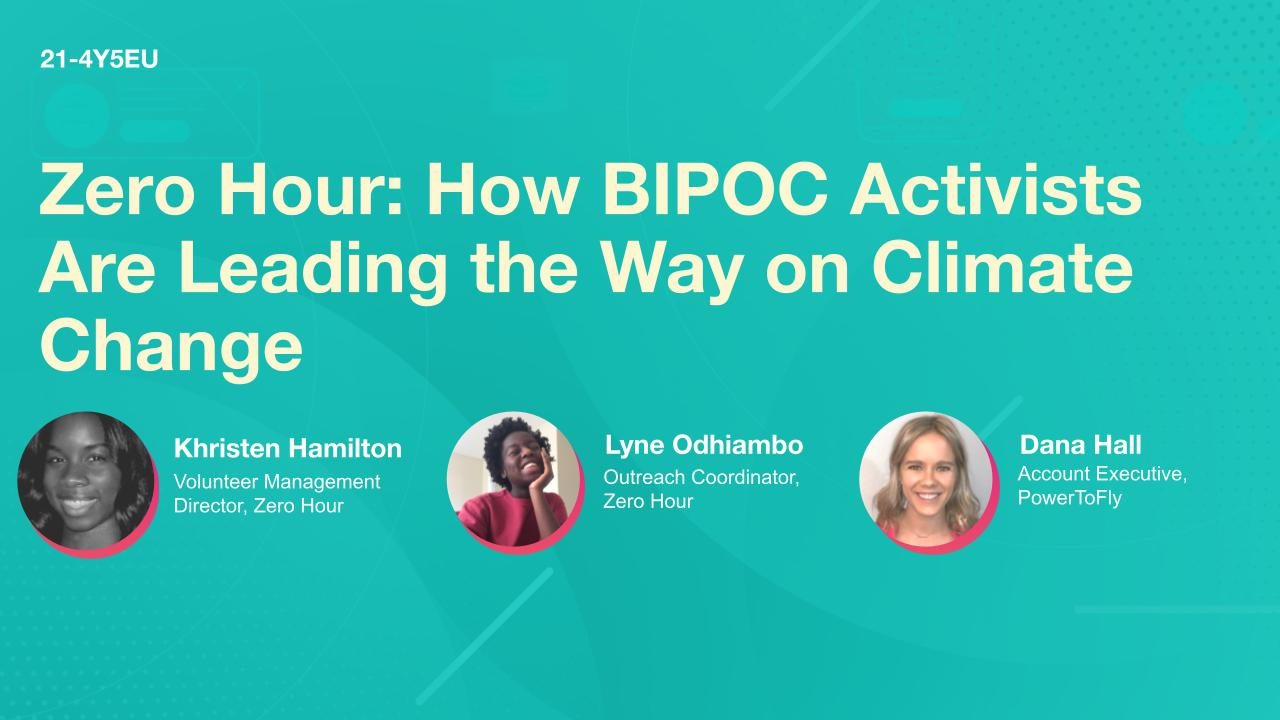 Zero Hour: How BIPOC Activists Are Leading the Way on Climate Change