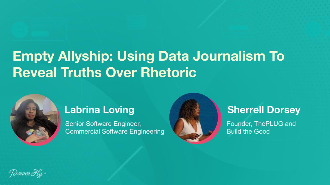 Empty Allyship: Using Data Journalism To Reveal Truths Over Rhetoric