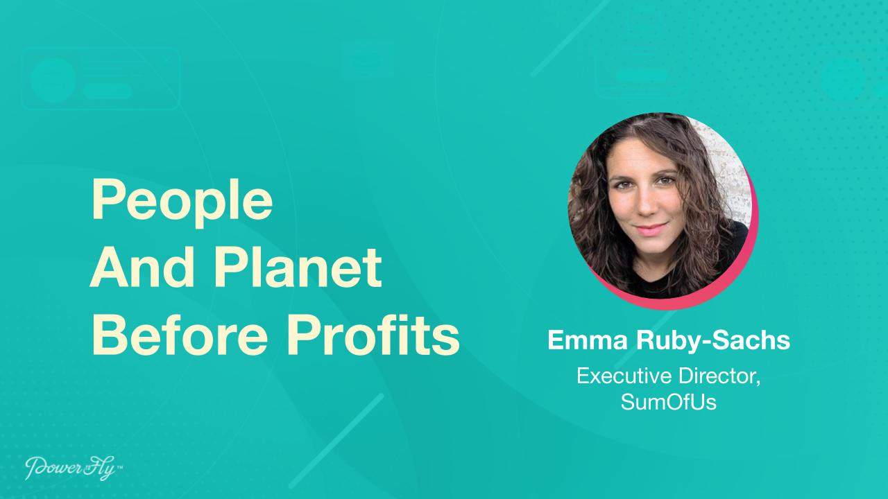 People And Planet Before Profits