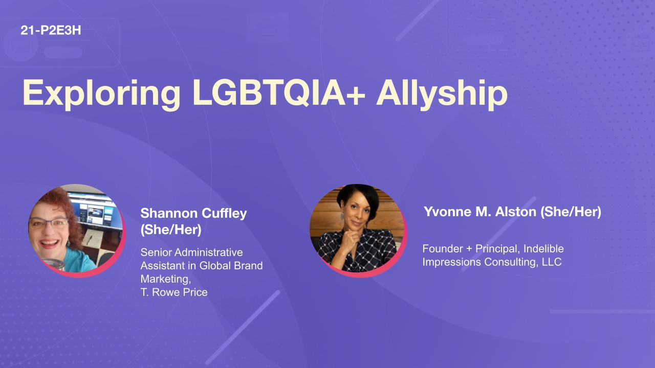 Exploring LGBTQIA+ Allyship