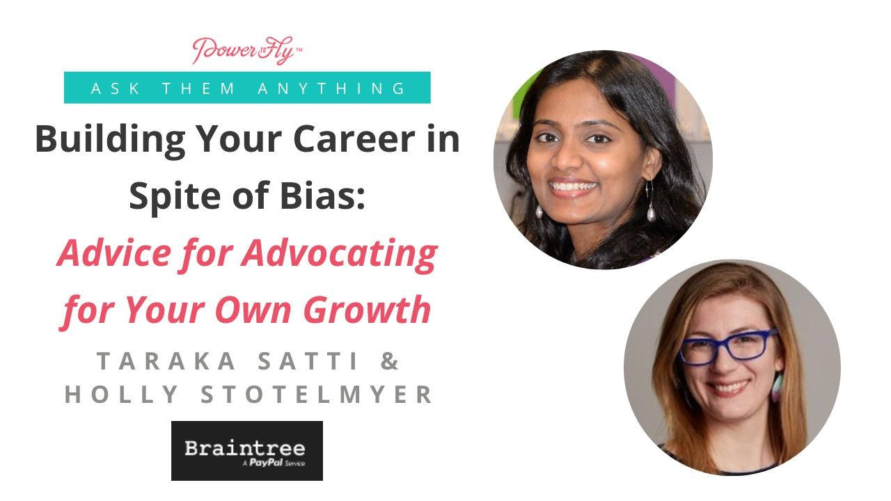 Building Your Career in Spite of Bias: Advice for Advocating for Your Own Growth