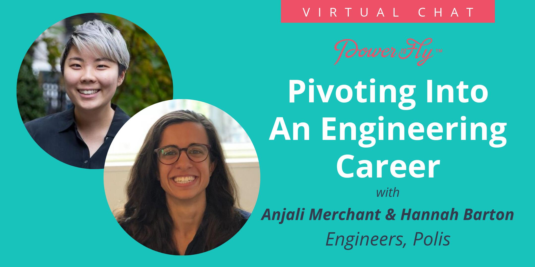 Pivoting Into An Engineering Career