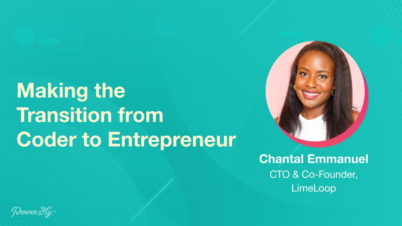 Making the Transition from Coder to Enterpreneur