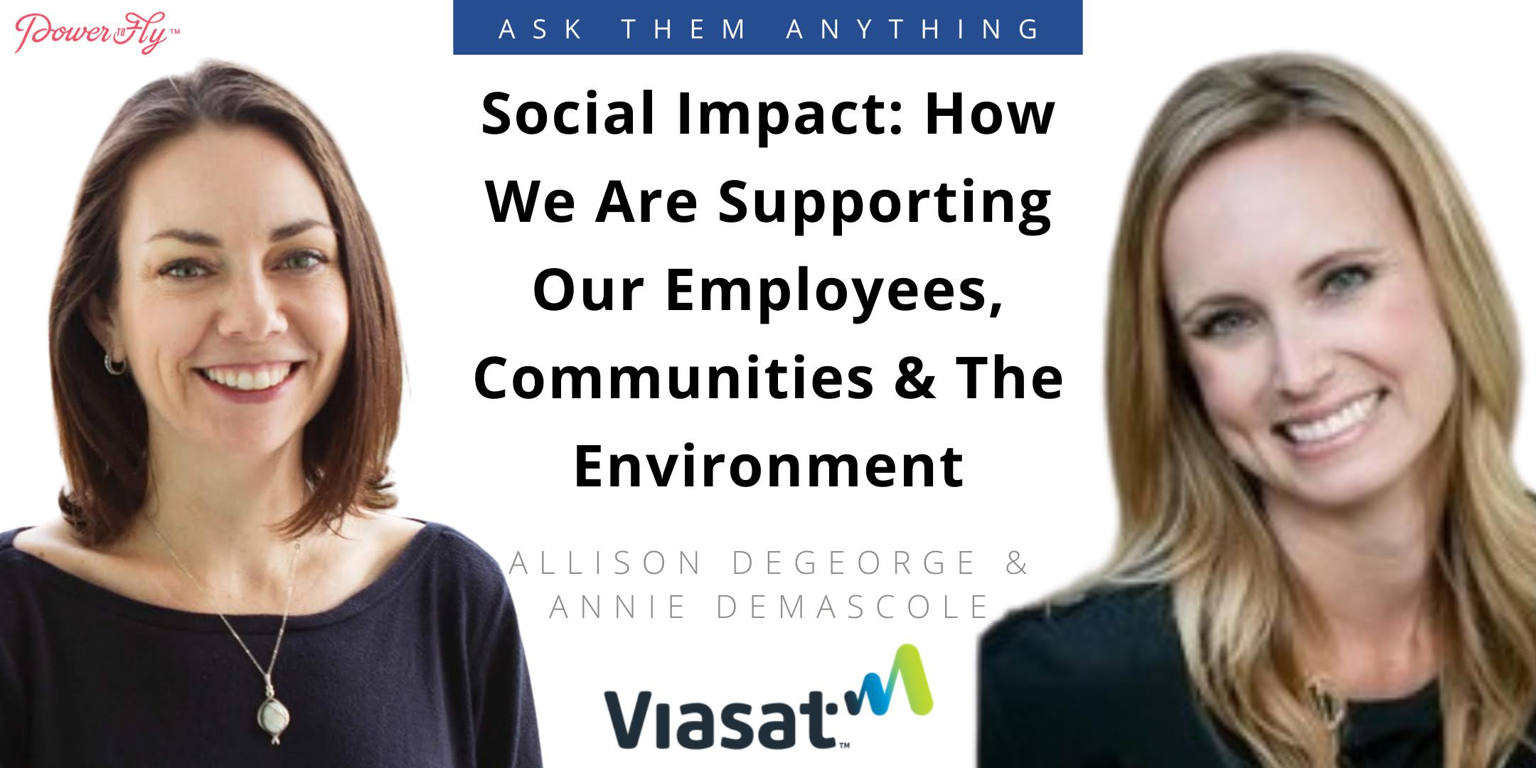 Social Impact: How We Are Supporting Our Employees, Communities & The Environment