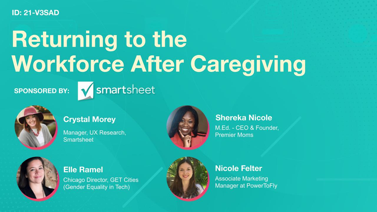 Returning to the Workforce After Caregiving