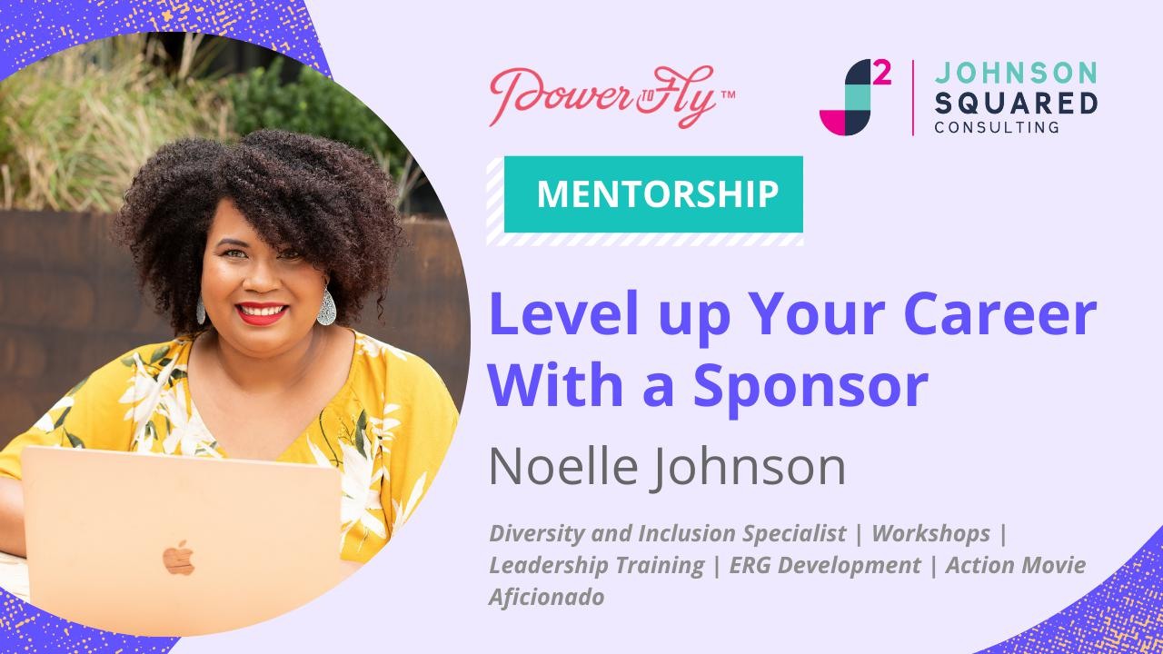 Level up your career with a sponsor