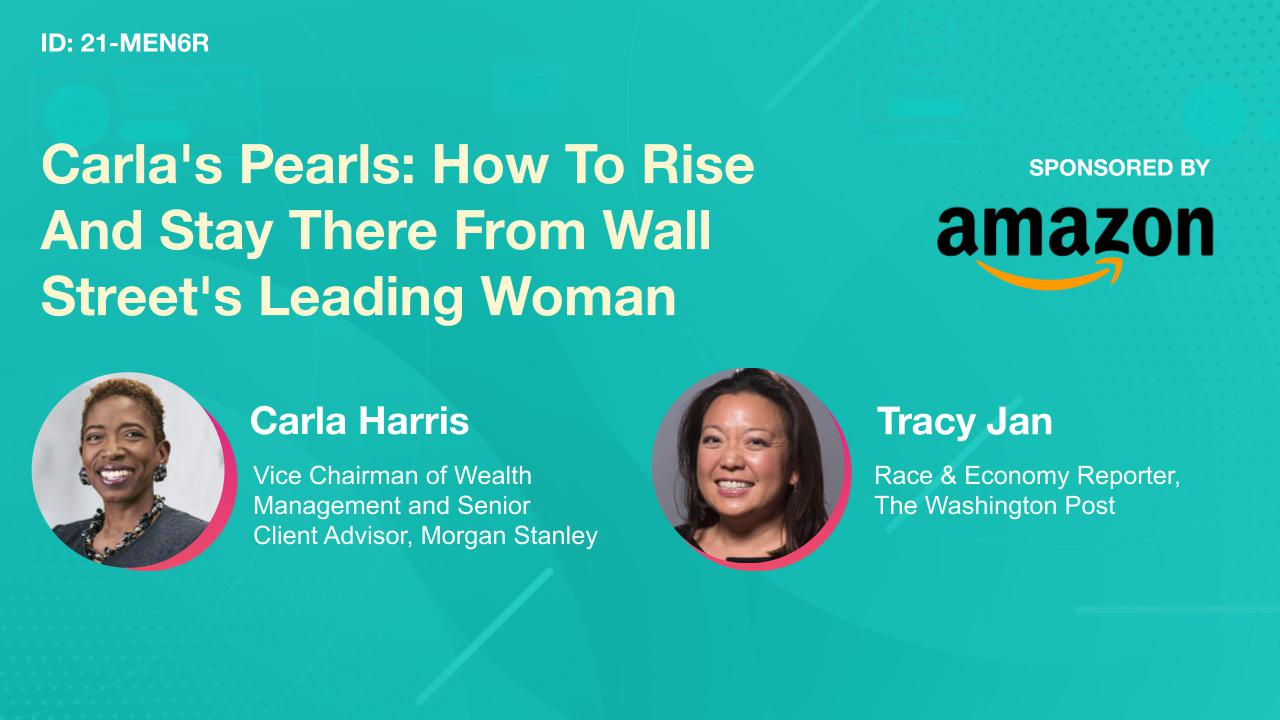 Carla's Pearls: How To Rise And Stay There From Wall Street's Leading Woman