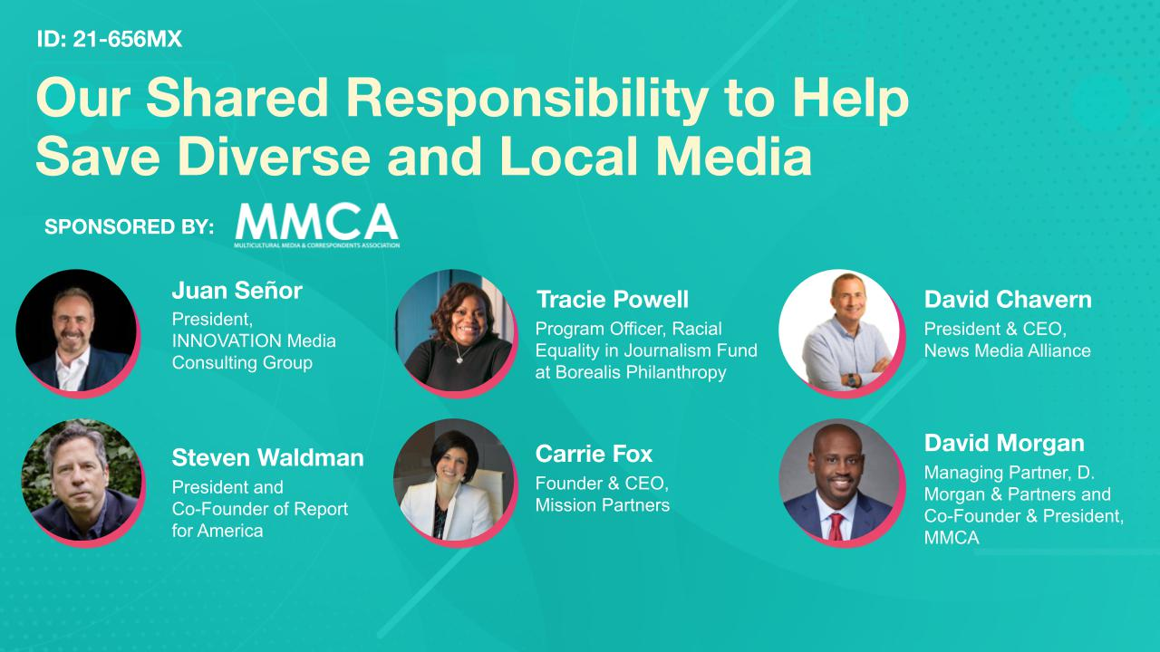 Our Shared Responsibility to Help Save Diverse and Local Media