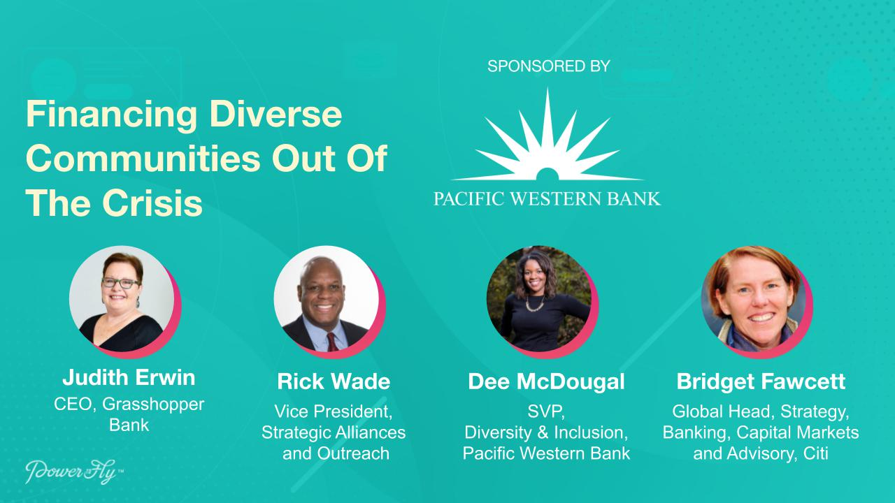 Financing Diverse Communities Out Of The Crisis