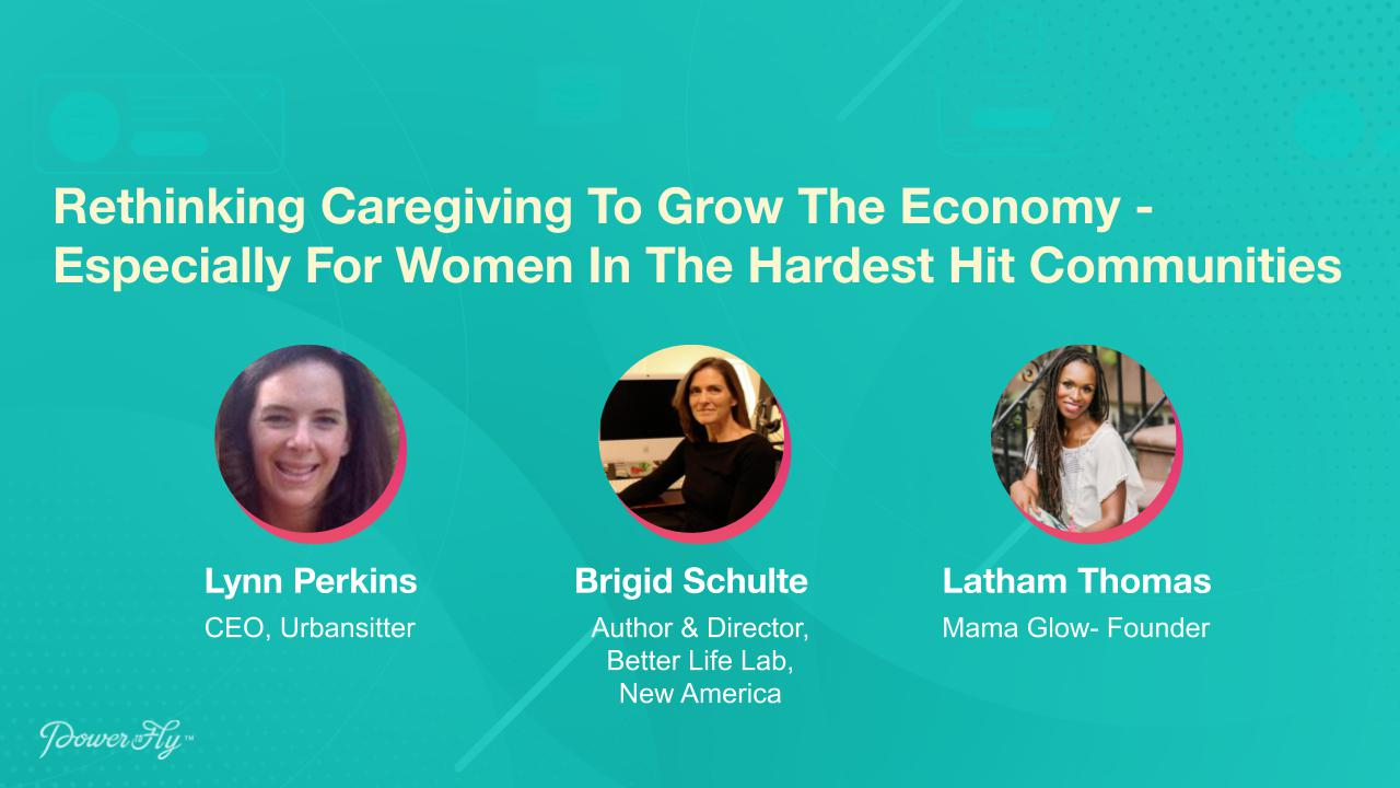 Rethinking Caregiving To Grow The Economy - Especially For Women In The Hardest Hit Communities