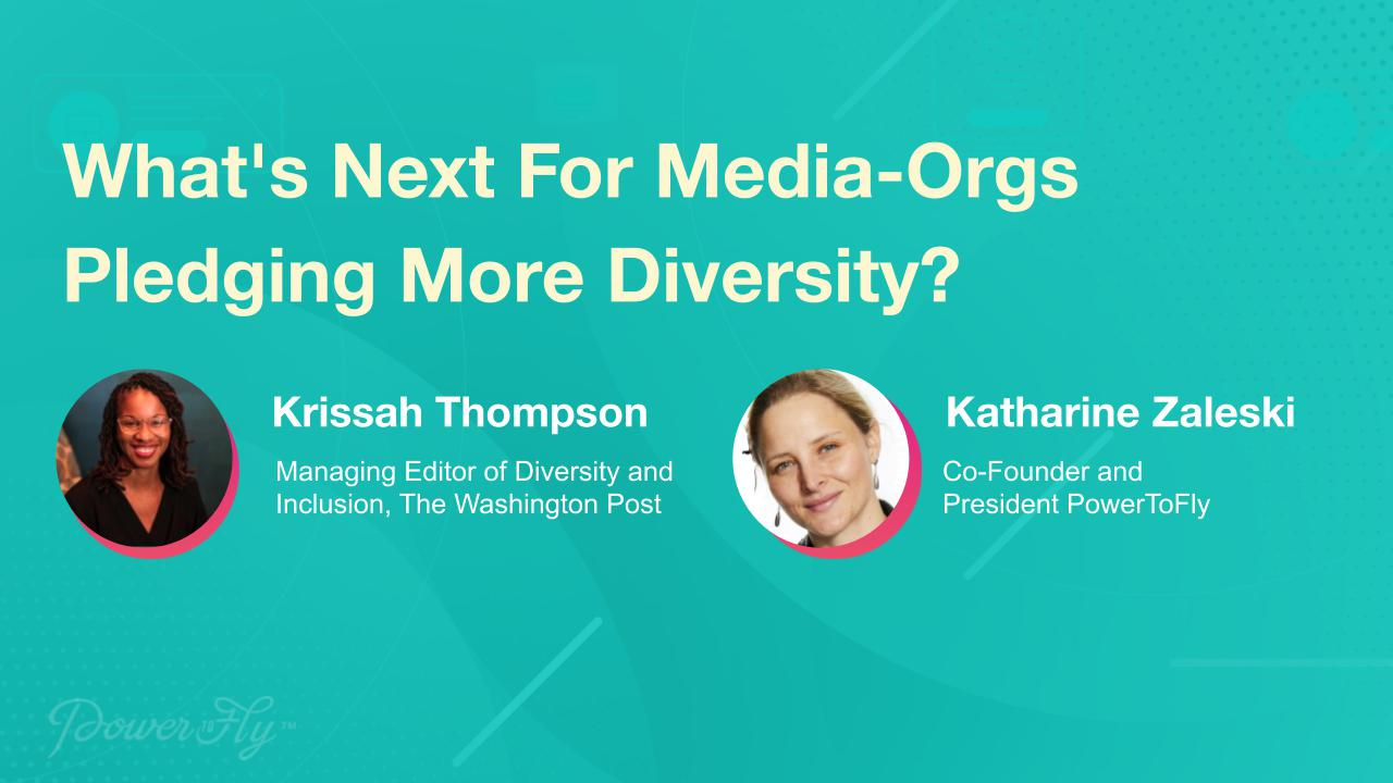 What's Next For Media-Orgs Pledging More Diversity?