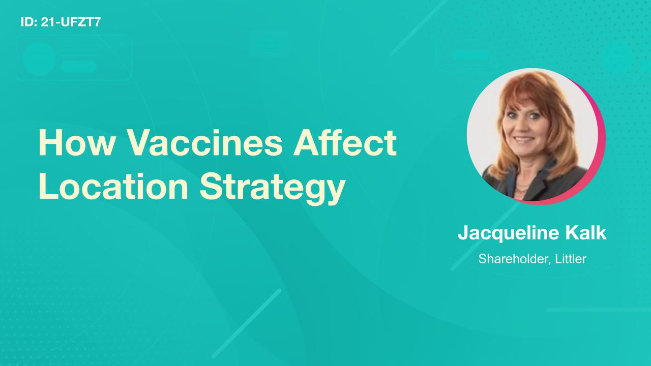 How Vaccines Affect Location Strategy