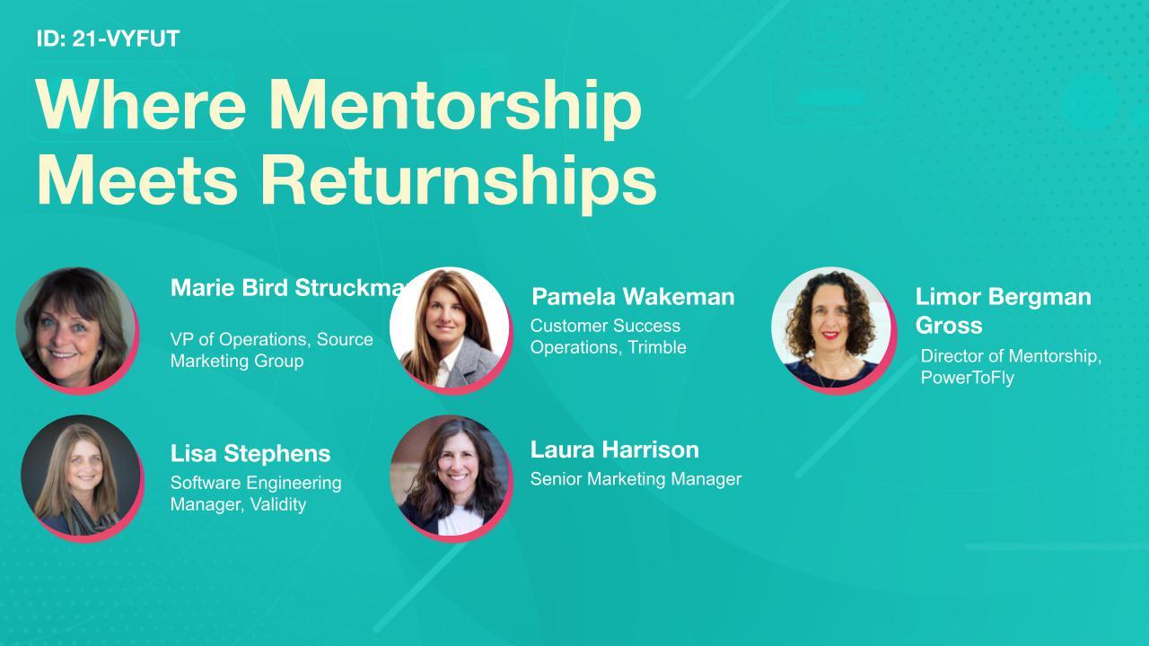 Where Mentorship Meets Returnships