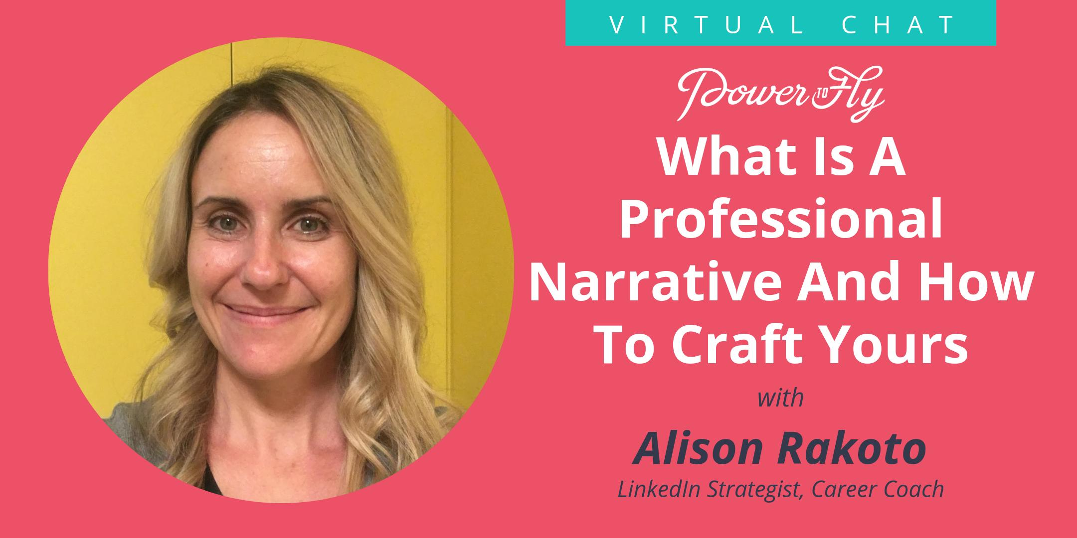What Is A Professional Narrative And How To Craft Yours