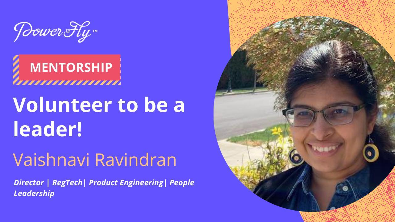 Volunteer to Be a Leader!