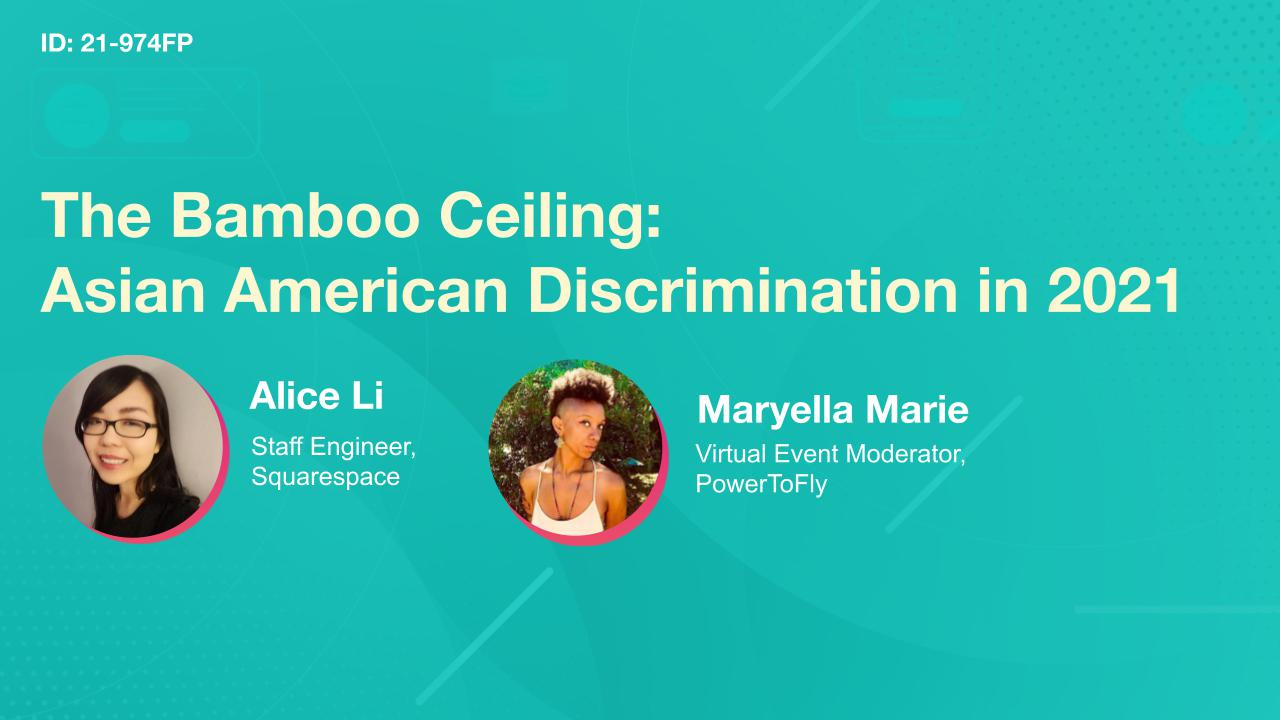 The Bamboo Ceiling: Asian American Discrimination in 2021