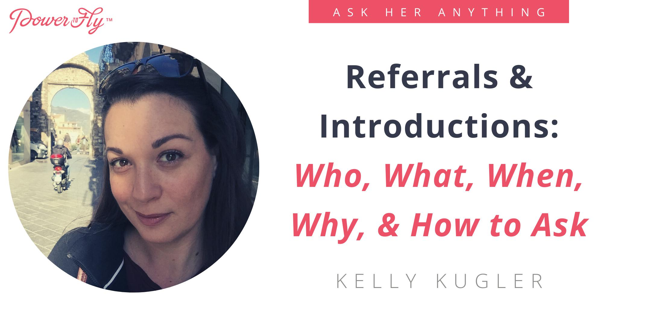 Referrals & Introductions: Who, What, When, Why, & How to Ask