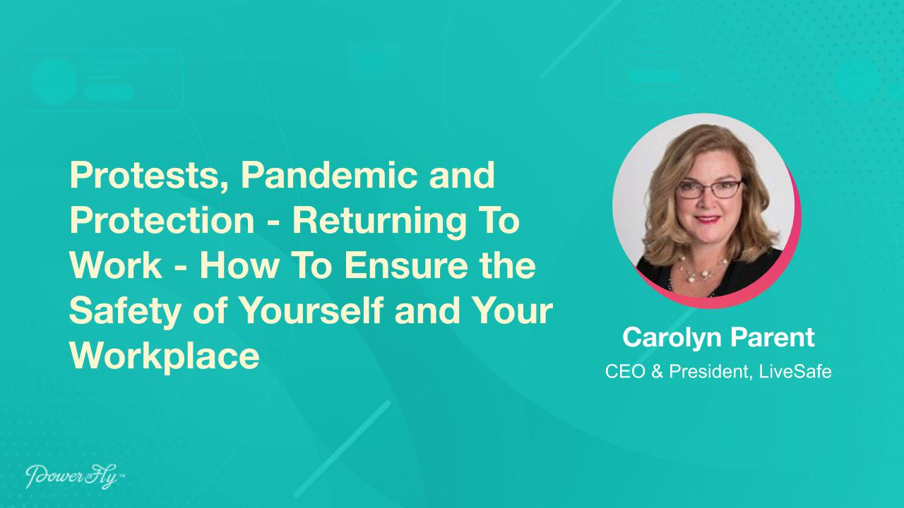 Protests, Pandemic and Protection - Returning To Work - How To Ensure the Safety of Yourself and Your Workplace.