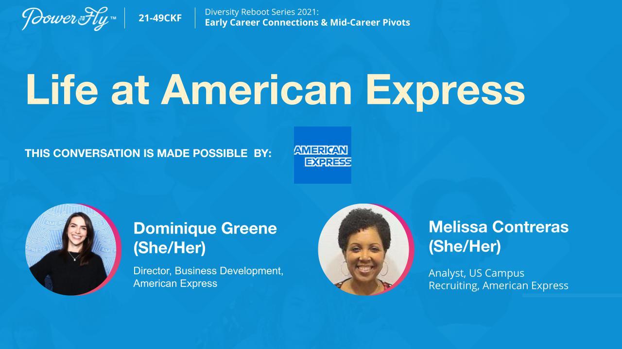 Life at American Express
