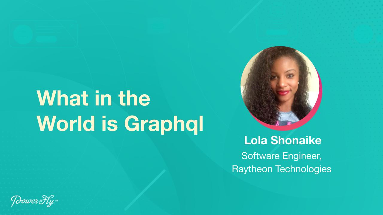 What in the World is Graphql