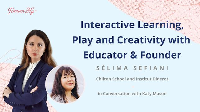 Interactive Learning, Play and Creativity with an Educator and Founder
