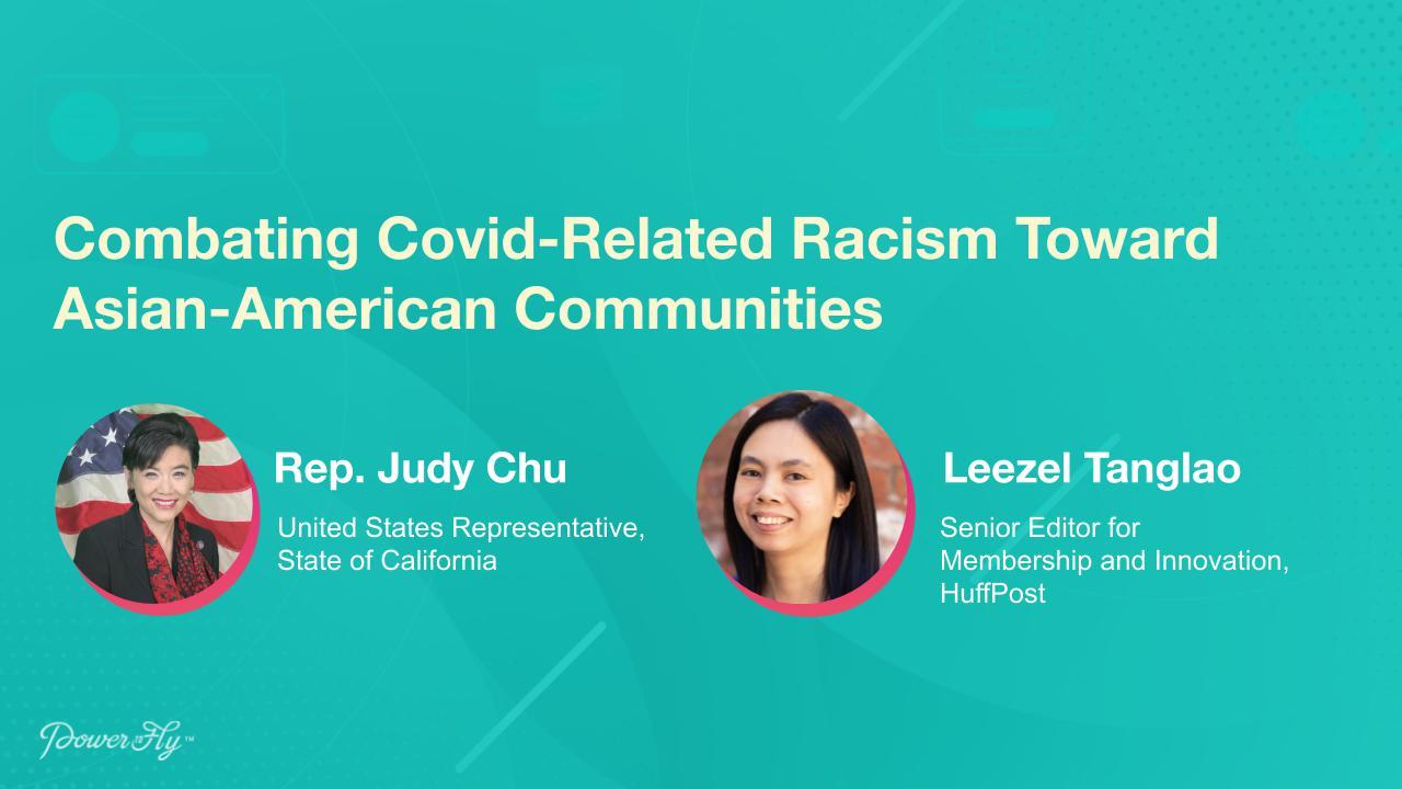 Combating Covid-Related Racism Toward Asian-American Communities
