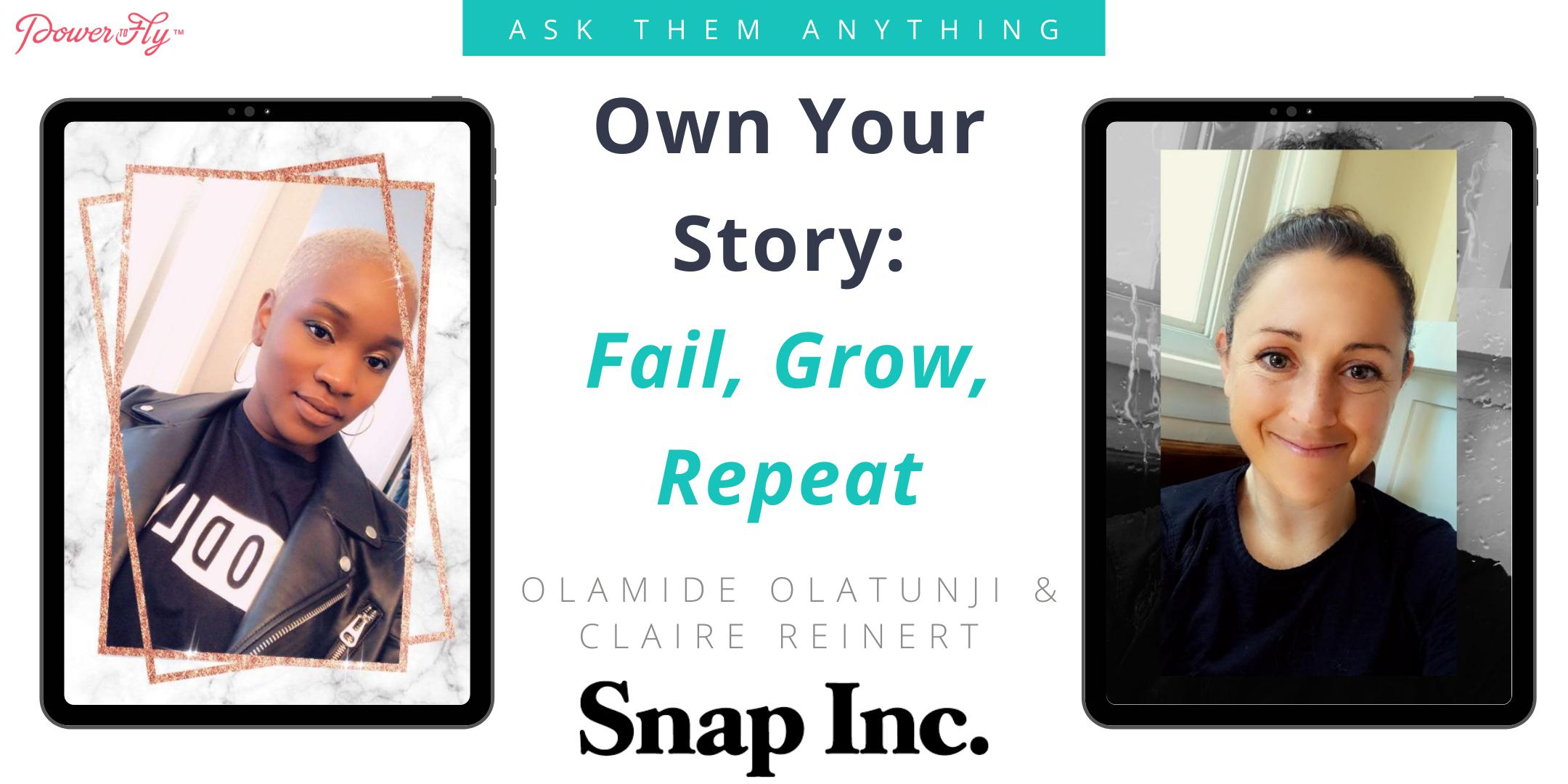 Own Your Story: Fail, Grow, Repeat