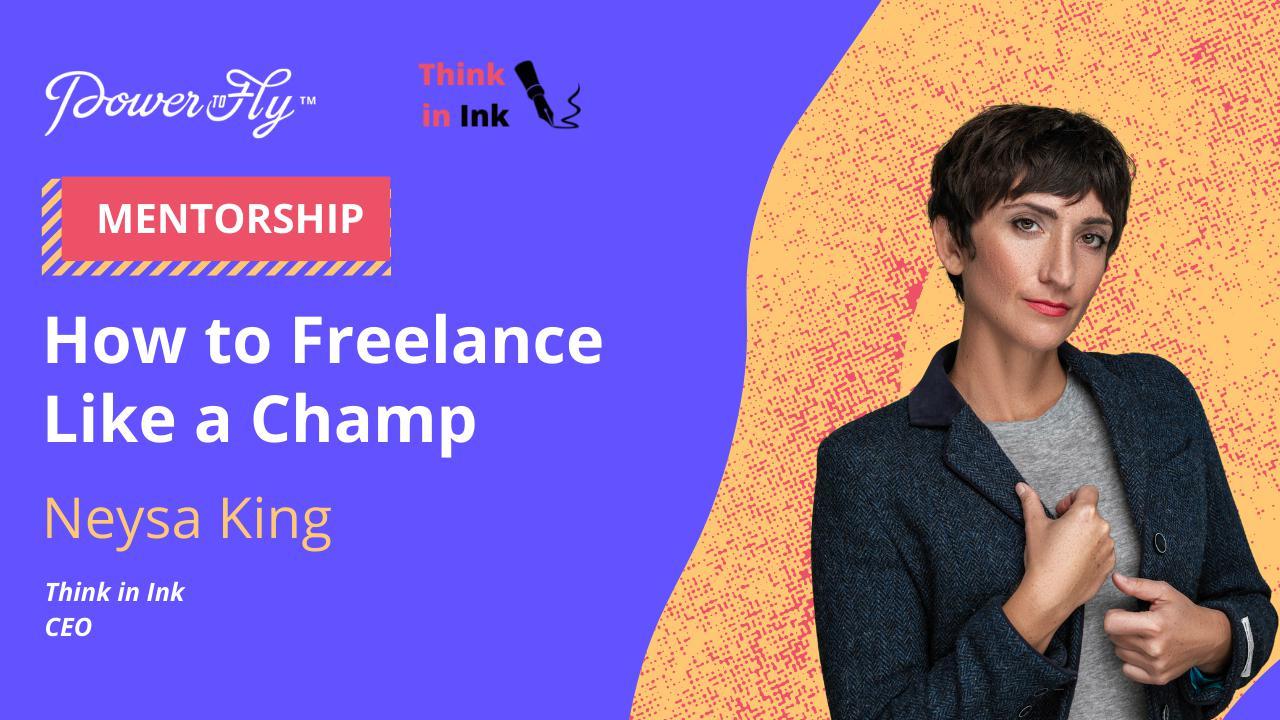 How to Freelance Like a Champ