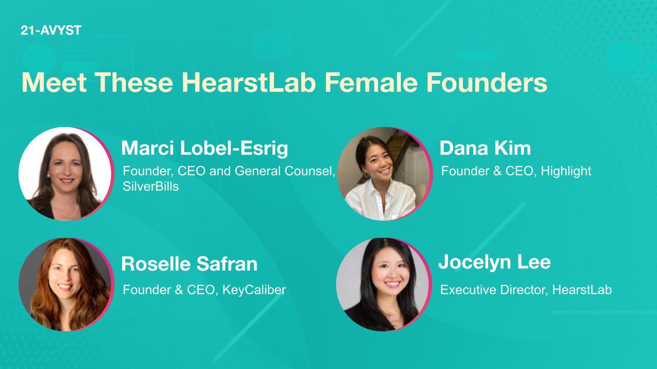 Meet These HearstLab Female Founders