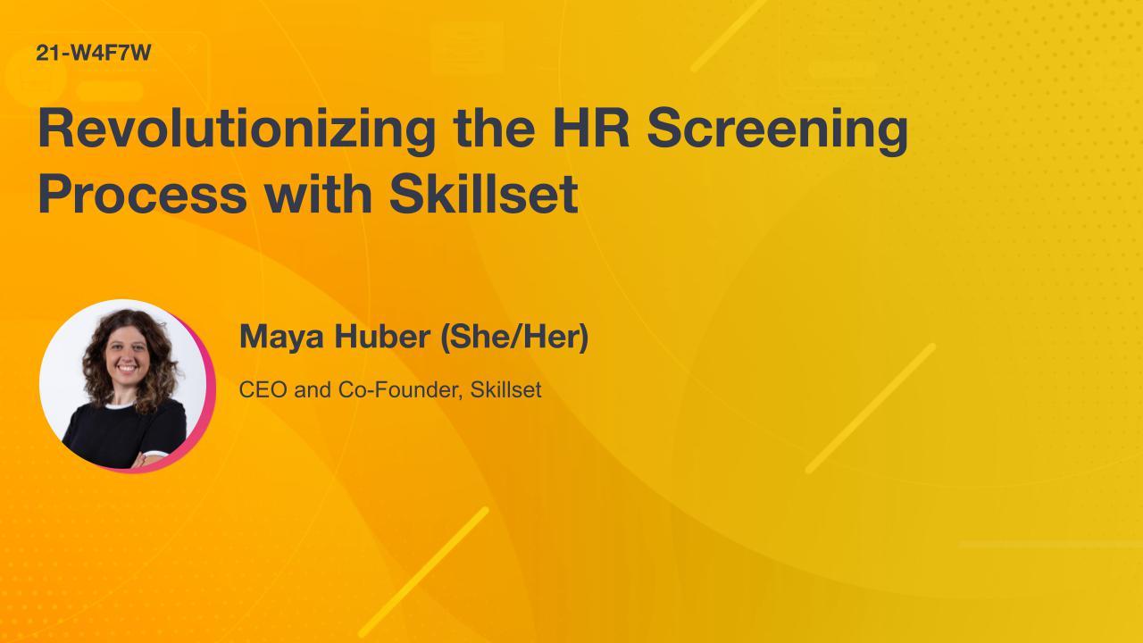 Revolutionizing the HR Screening Process with Skillset